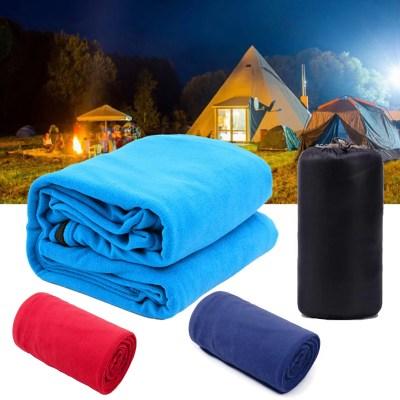 Fleece Deckenschlafsack, Hüttenschlafsack, Sommerschlafsack, Innenschlafsack für Camping und Reisen