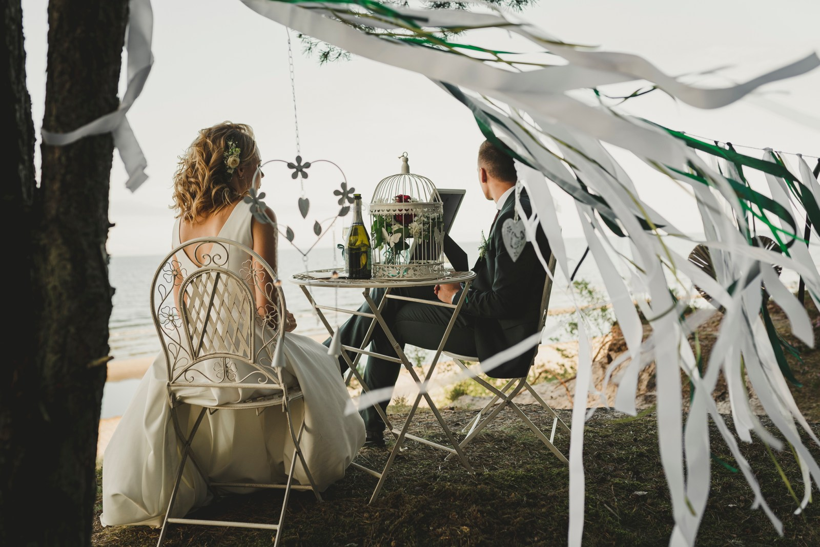 love letters by the sea wedding