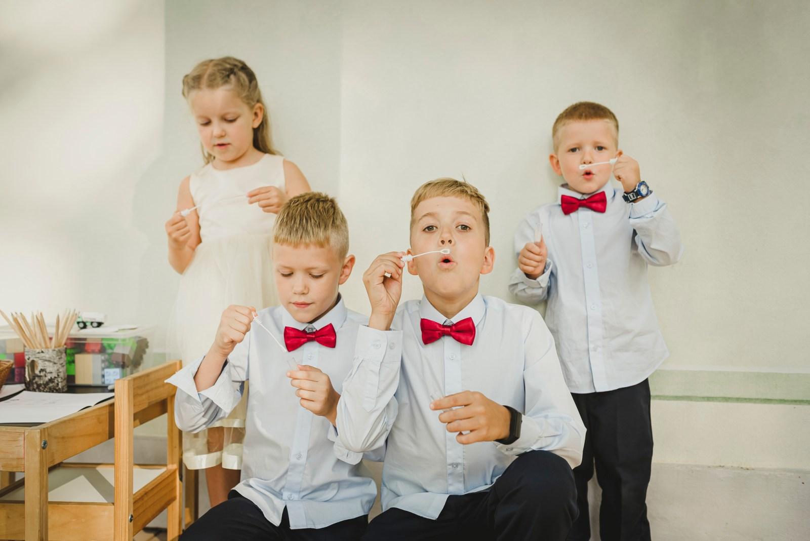 kid wedding photography