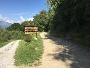 Indicazioni trekking Camaggiore