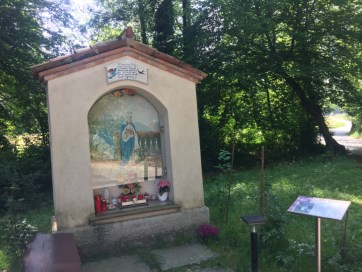 Madonna nel parco