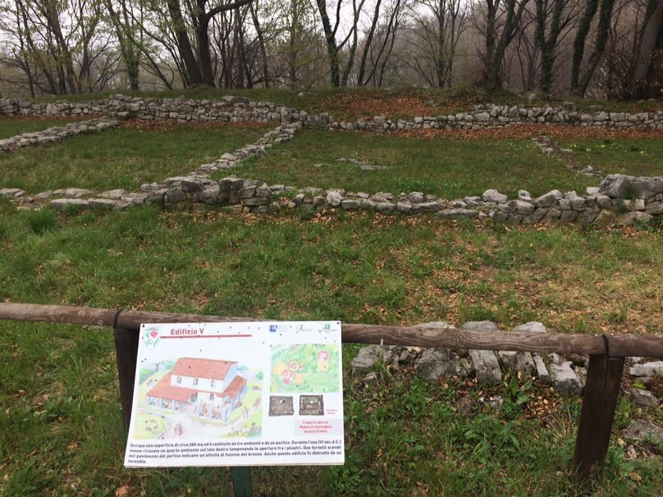 Reperti archeologici Parco Monte Barro