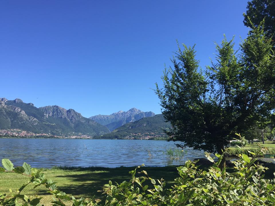 Ciclopedonale lago di Oggiono e Annone