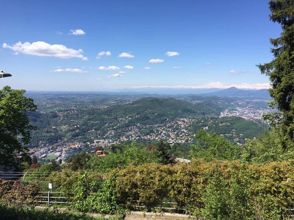 Panorama a Brunate