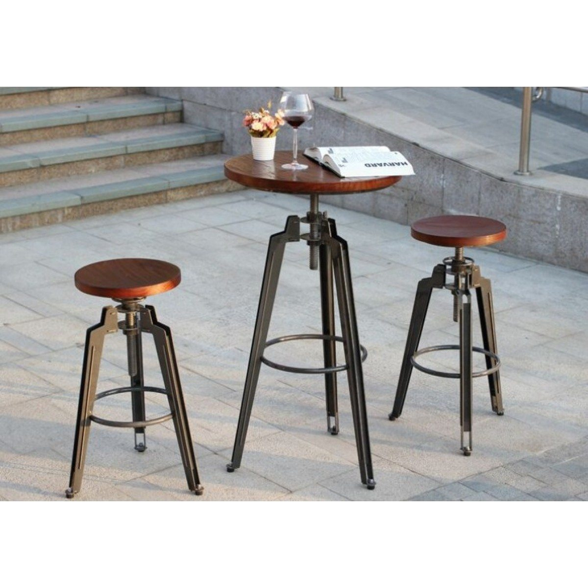 Cafe Table And Stools Available Online Or In Store From Bimbo Adelaide