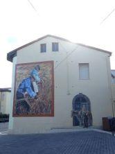"""Alcuni esempi di """"murales"""" che impreziosiscono il paese di Borore (NU)"""