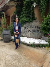 Noi alle Distillerie Lussurgesi a Santu Lussurgiu