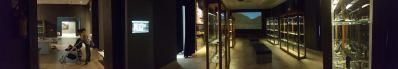 panoramica del Museo dell'Ossidiana di Pau
