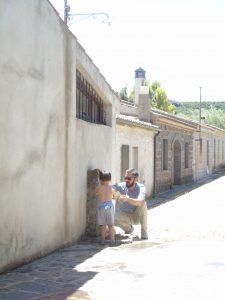 visita al San Serafino di Ghilarza in Sardegna