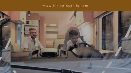 bimboinspalla al Salone del Camper 2018