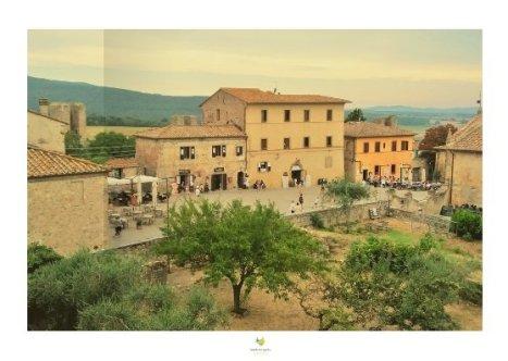 borgo medievale di Monteriggioni