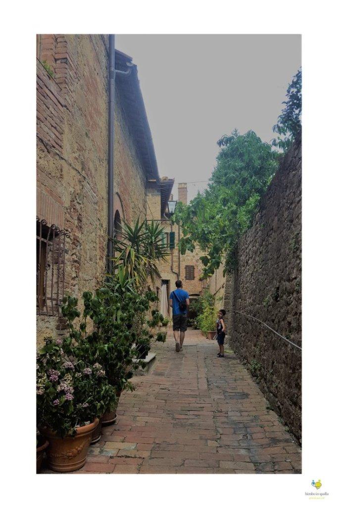 Toscana itinerario Monticchiello