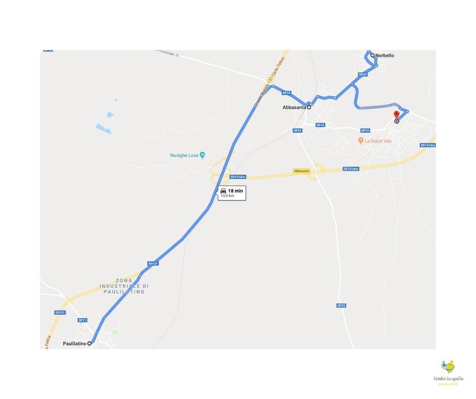 itinerario Guilcer