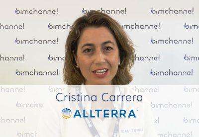 Entrevista  Cristina Carrera, Directora comercial en ALLTERRA Ibérica - BIMEXPO 2018