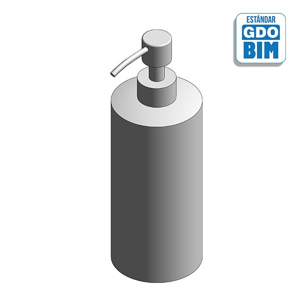 Dispensador de mesa para jabón 500ml