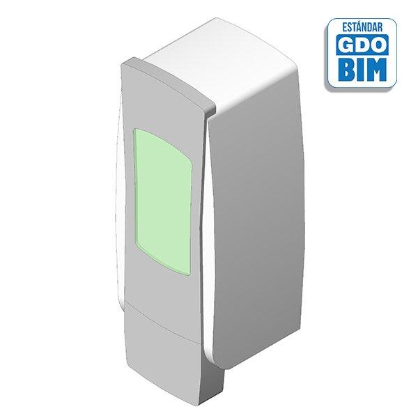 Dispensador de pared - Gel desinfección espuma 1250ml