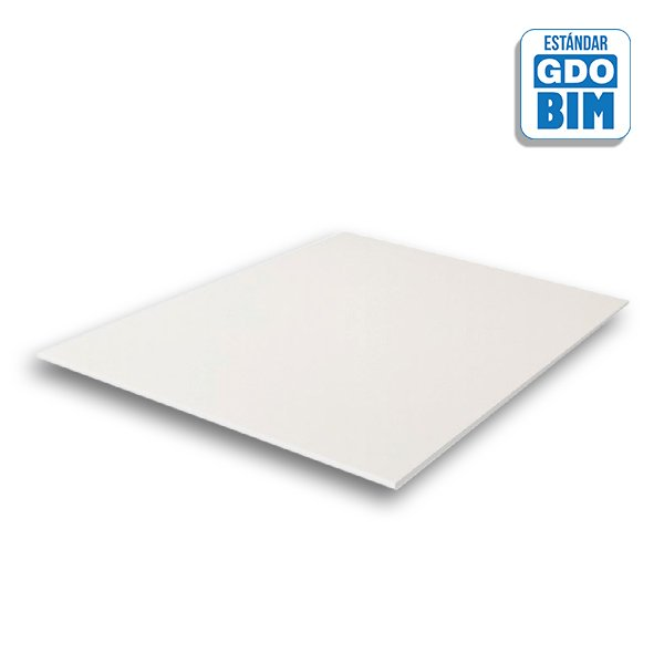 Techo registrable Placo® Gyprex® Asepta® Vinilo 600x600 mm