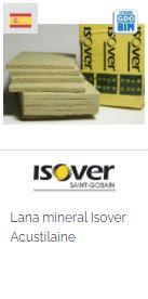 Imagen Objeto BIM Isover Lana mineral Isover Acustilaine