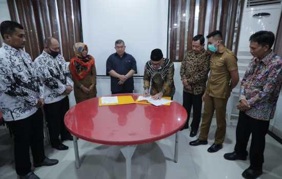 Jalin Kemitraan, Disdik Aceh MoU dengan POLTEKPEL Malahayati