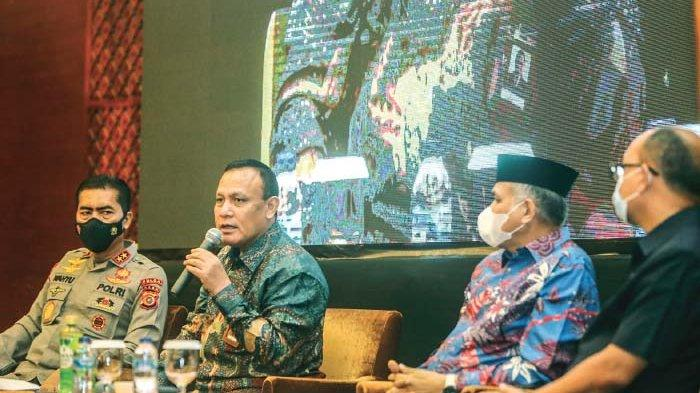 Ketua KPK : Bupati dan Walikota Harus Bertanggung Jawab Atasi Kemiskinan Aceh