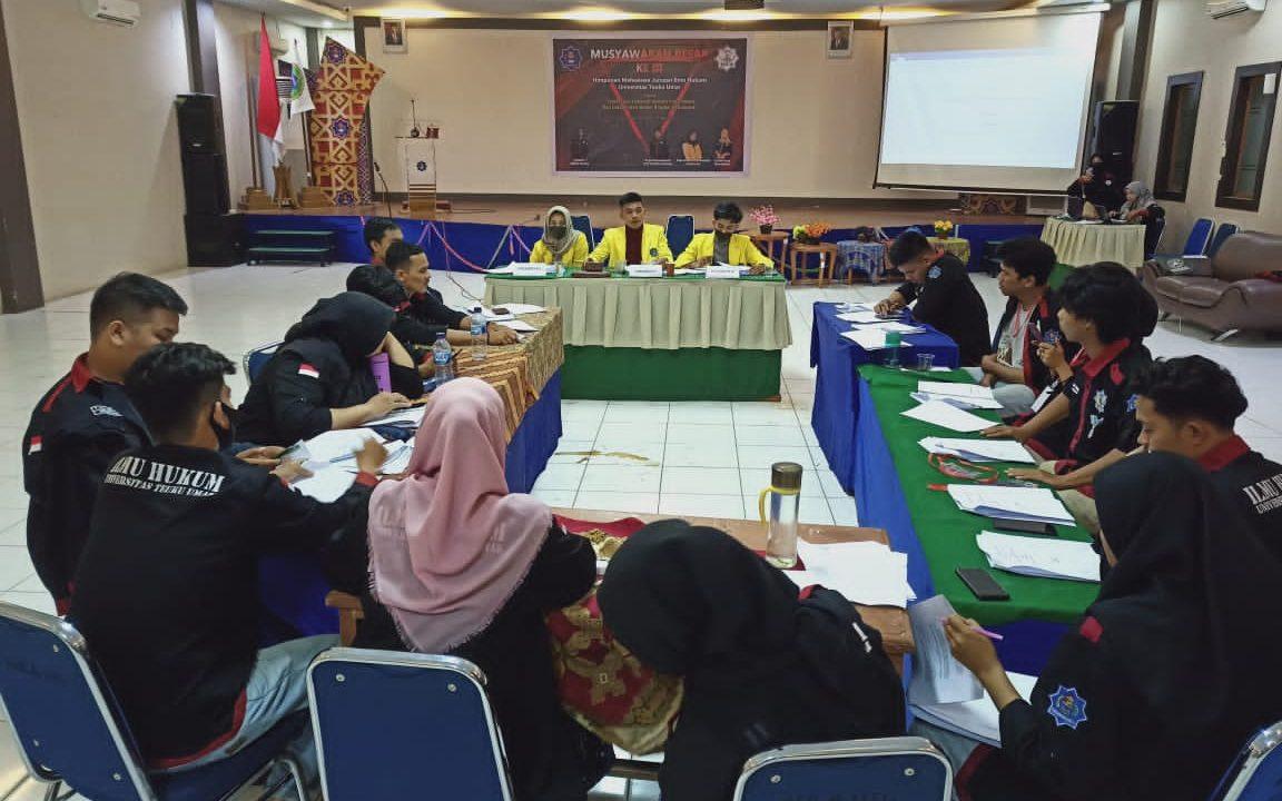 HIMA-IH UTU Sukses Laksanakan MUBES, Khairul Adami Terpilih Sebagai Ketua PEMIRA