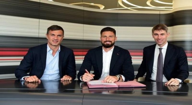 Olivier Giroud Gabung Ac Milan