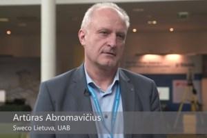 Nuomone apie BIM Forum Vilnius 2016 Artūras Abromavičius, SWECO