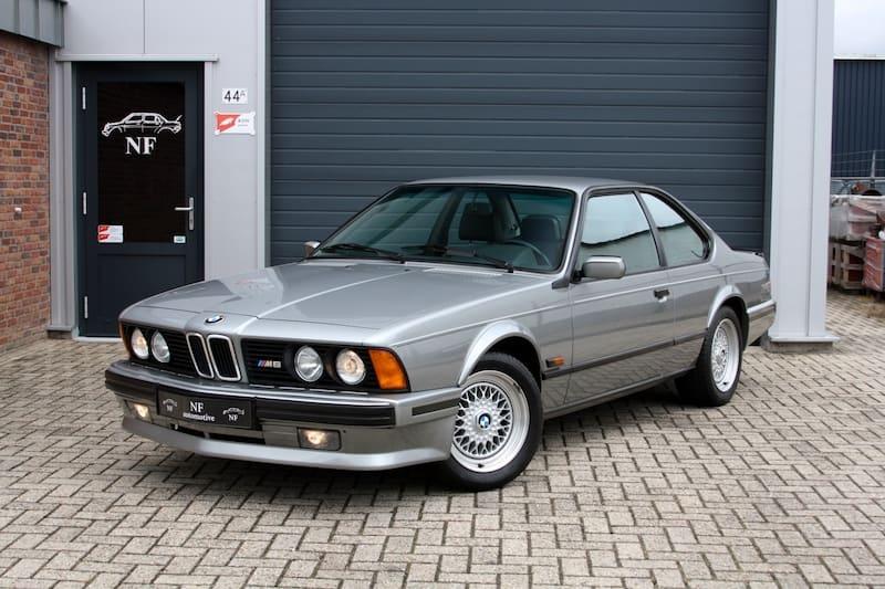 BMW E24 M6 M635CSi OEM Paint Color Options