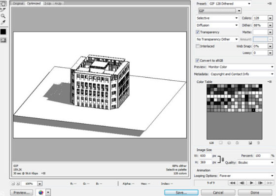 How to use revit for generating animated GIFS