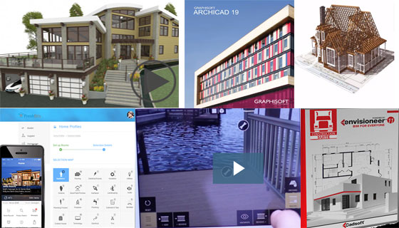 Some top-notch BIM and Design Software Lists in 2016