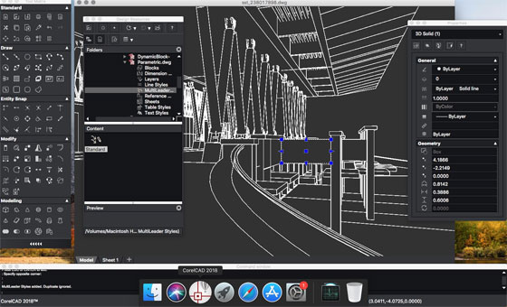 CorelCAD 2018 is just launched for Mac and Windows