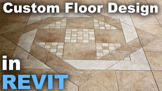 How to generate custom floor patterns in Revit
