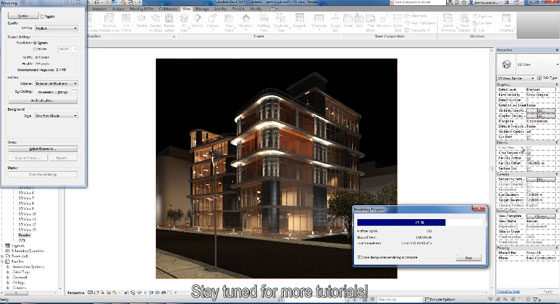 How to create façade lighting design with LIGHTS add-in for Revit
