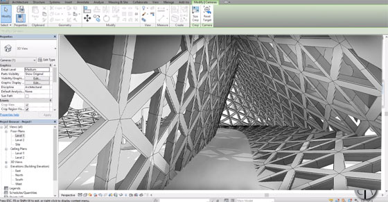 How to create parametric walkway in Revit