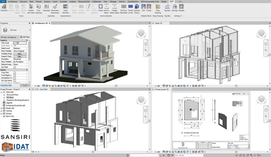 Precast Automation in Revit