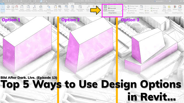 Top 5 Ways to Use Design Options in Revit