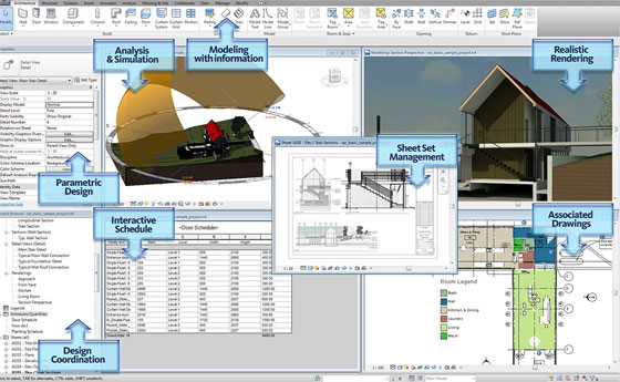 Online certified training course on Revit by Autodesk