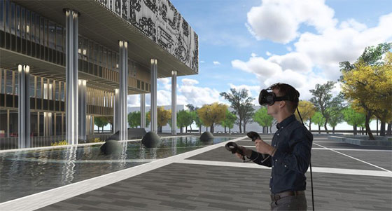 Newest Trezi 1.8, a VR product compatible with Revit & Sketchup