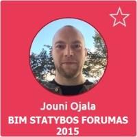 Jouni Ojala, BIM Statybos Forumas 2015 pranešėjas