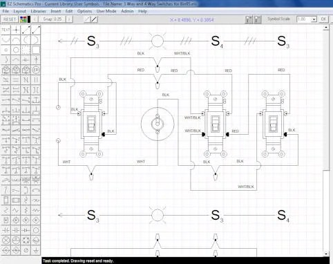 professional electrical schematic diagrams maker