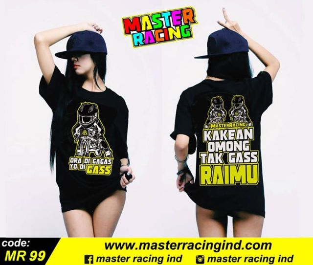 Master Racing Kaos Balap Drag Bike Race Distro