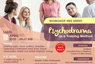 Workshop Psychodrama as a Training Method – Jakarta, 180420