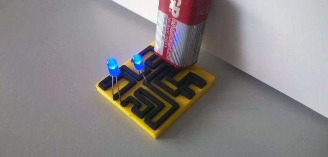 stampa 3d filamento conduttivo