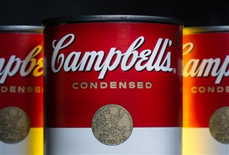 Earns Campbell Soup