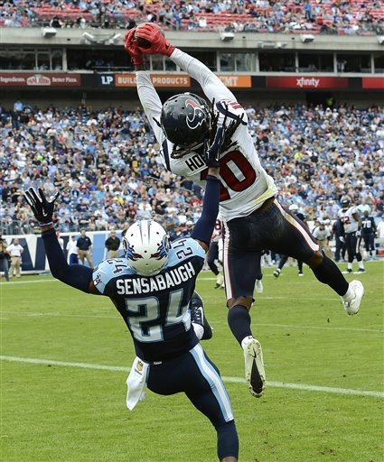 DeAndre Hopkins, Coty Sensabaugh