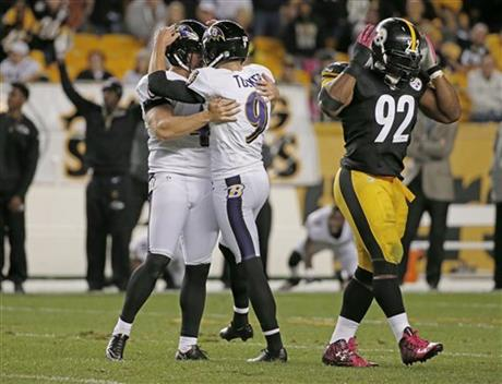 Justin Tucker, Sam Koch, James Harrison