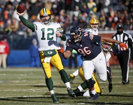 Aaron Rodgers, Akiem Hicks