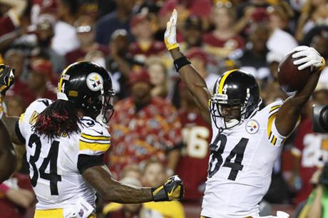 Antonio Brown, DeAngelo Williams