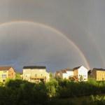 Captured A Double Rainbow