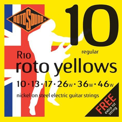 Rotosound 10 to 46 Electric Guitar string Set